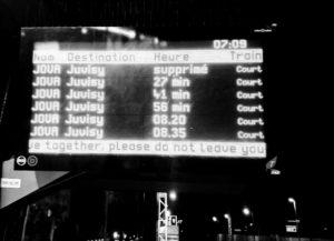 Ponctualité selon SNCF… Quelle crédibilité?